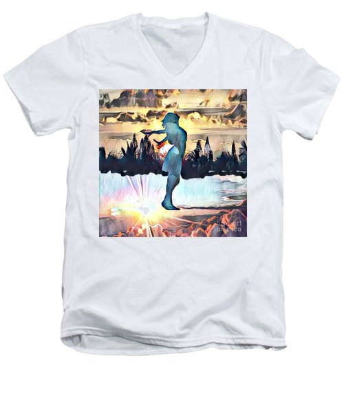Passing Through Men's V-Neck T-Shirt