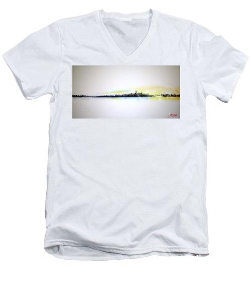 Pastel Morning Men's V-Neck T-Shirt