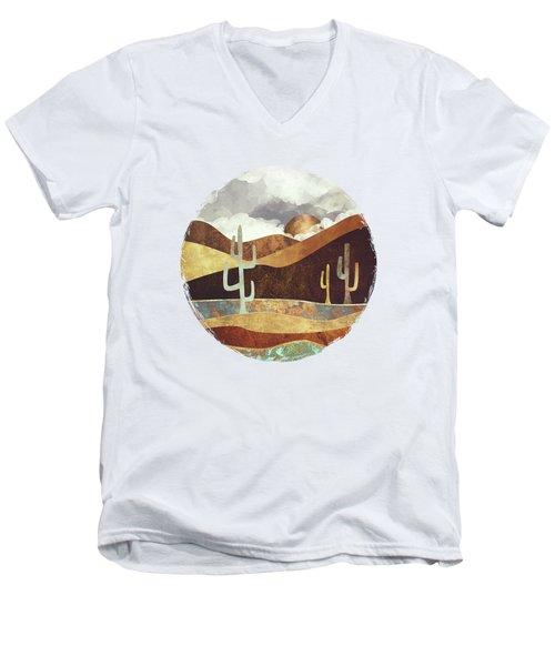 Patina Desert Men's V-Neck T-Shirt