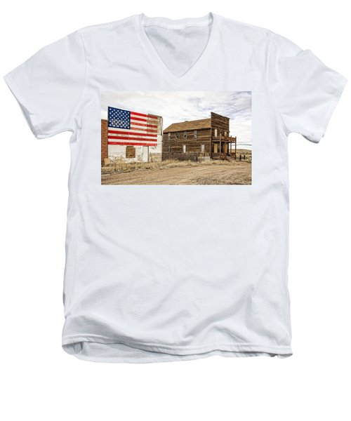 Patriotic Bordello Men's V-Neck T-Shirt