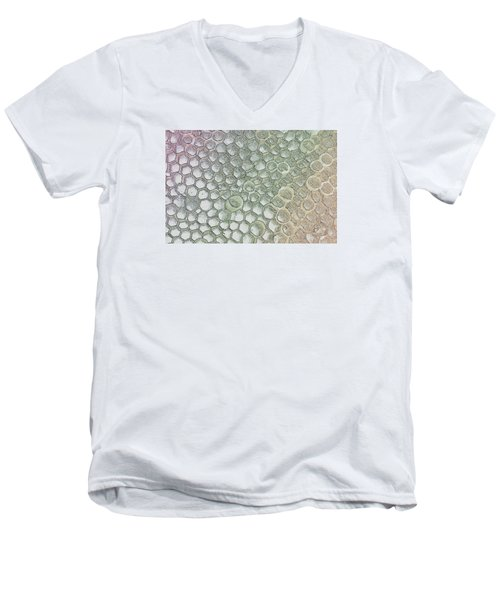 Pattern Or Abstract  Men's V-Neck T-Shirt