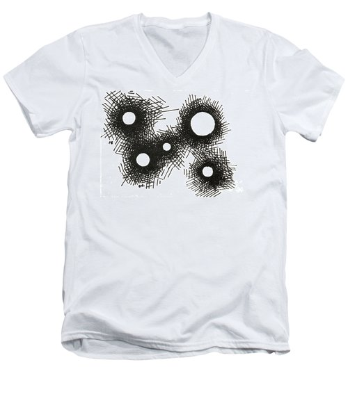 Patterns 1 2015 - Aceo Men's V-Neck T-Shirt