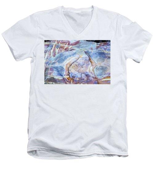 Patterns In Rock 2 Men's V-Neck T-Shirt