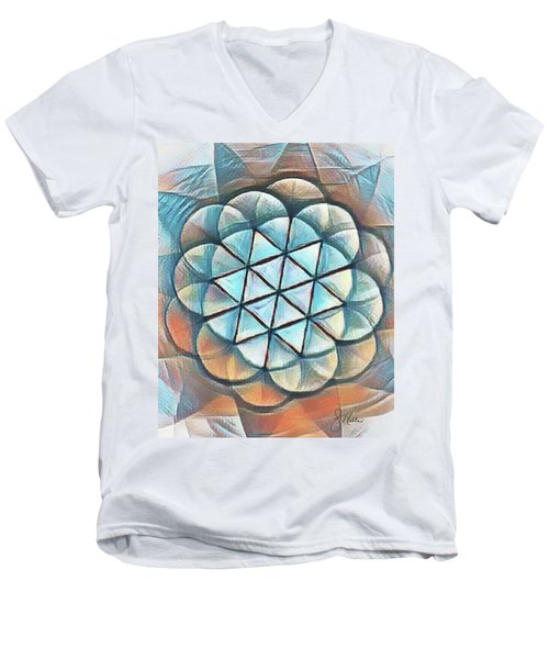 Patterns Of Life Men's V-Neck T-Shirt