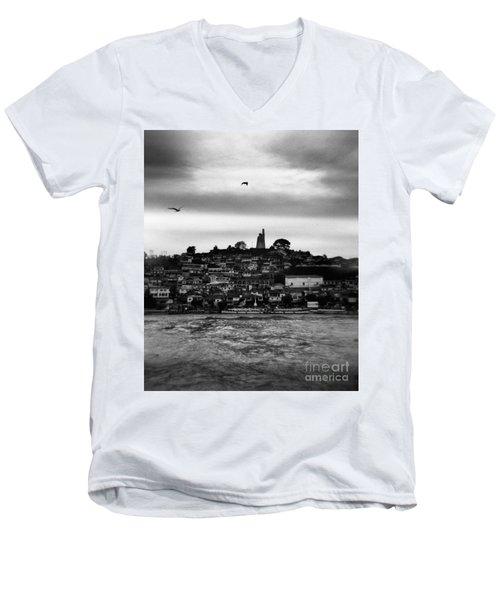 Patzcuaro Men's V-Neck T-Shirt