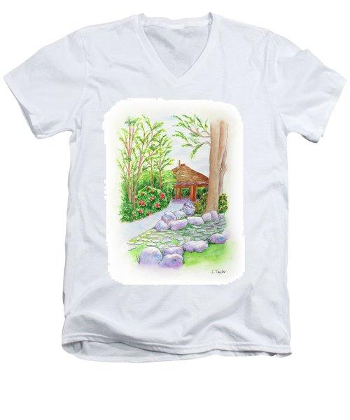 Pavilion Pathway Men's V-Neck T-Shirt