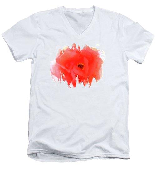 Peachy Keen Men's V-Neck T-Shirt