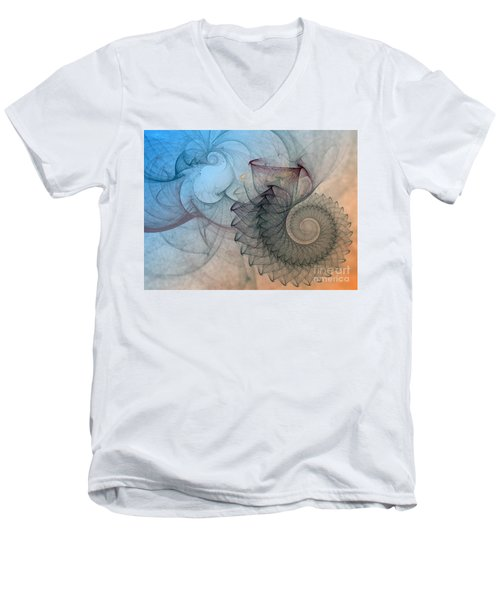 Pefect Spiral Men's V-Neck T-Shirt