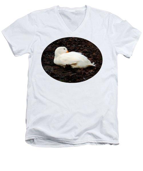 Pekin Duck Men's V-Neck T-Shirt