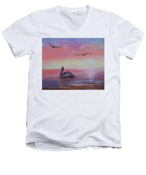 Pelican Bay Men's V-Neck T-Shirt