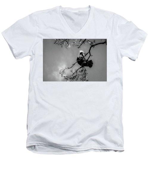 Pelican Connection Men's V-Neck T-Shirt