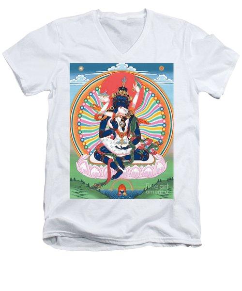 Pema Heruka Guhya Jnana Dakini Men's V-Neck T-Shirt