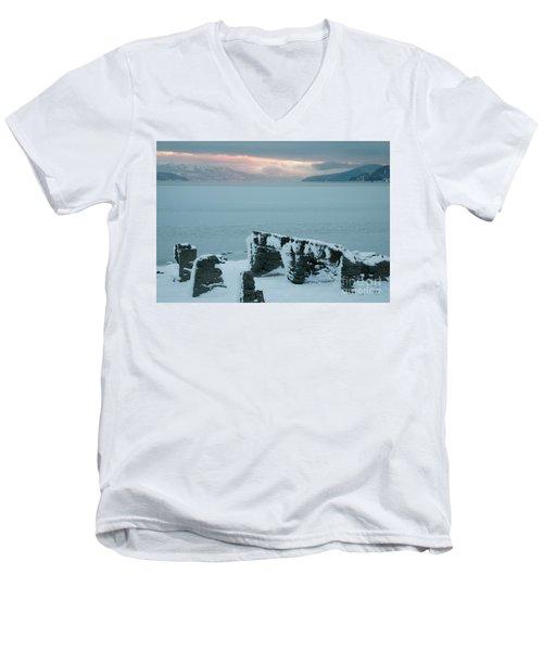 Pend Oreille Past Men's V-Neck T-Shirt