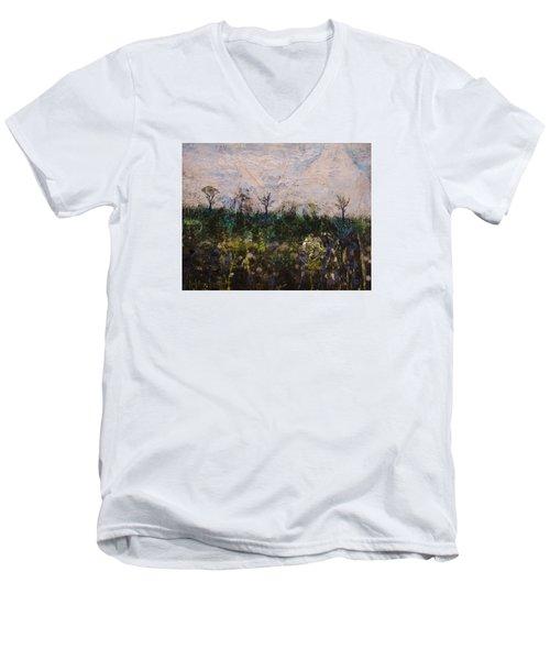 Pentimento Men's V-Neck T-Shirt