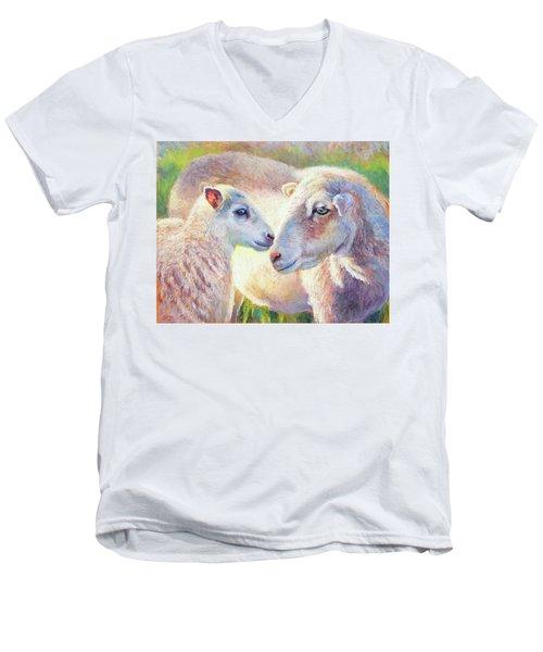 Perfect Love Men's V-Neck T-Shirt