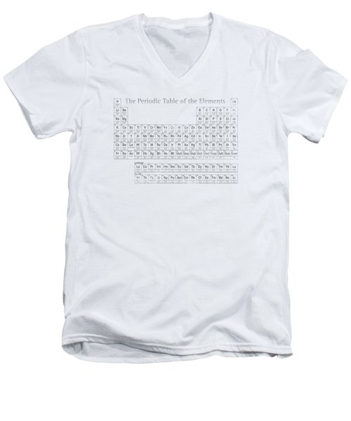 Periodic Table Of The Elements Men's V-Neck T-Shirt by Design Turnpike