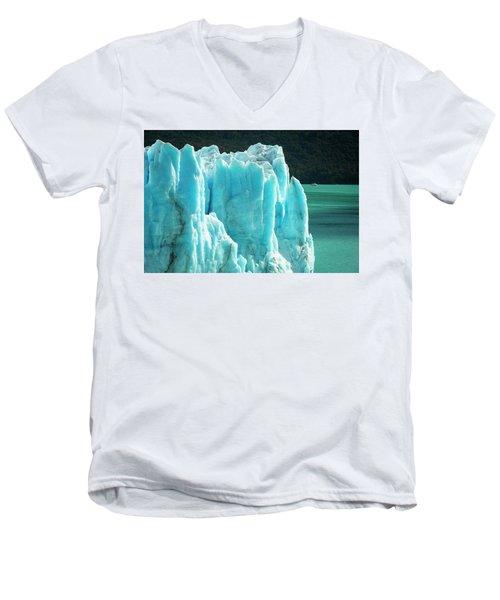 Perito Moreno Glacier Men's V-Neck T-Shirt