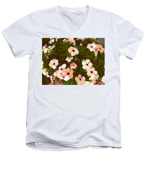 Periwinkle Men's V-Neck T-Shirt