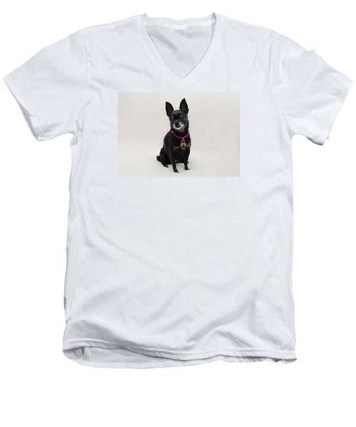 Perlita 5 Men's V-Neck T-Shirt