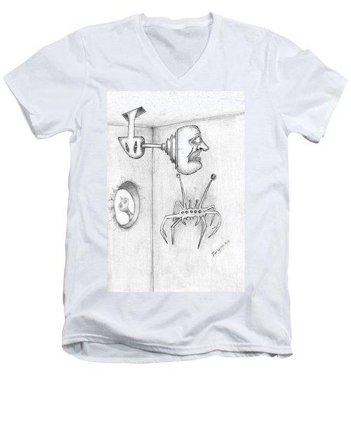 Permanent Fixture Men's V-Neck T-Shirt