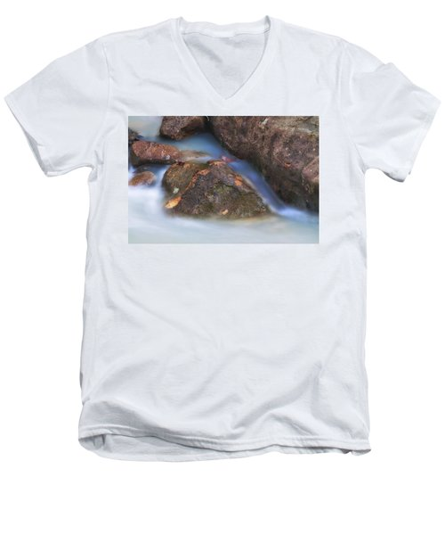 Men's V-Neck T-Shirt featuring the photograph Perpetual Motion by Andy Crawford