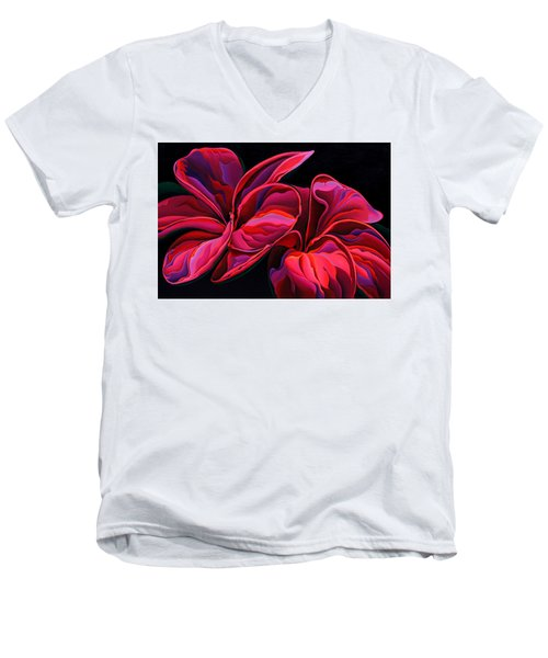 Petal Pageant  Men's V-Neck T-Shirt