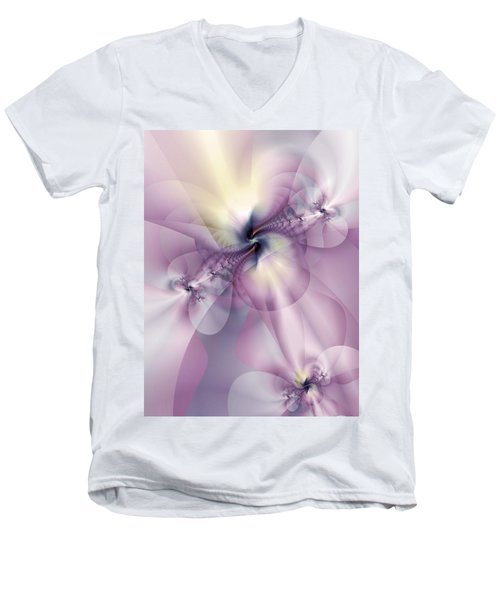 Petals Of Pulchritude Men's V-Neck T-Shirt