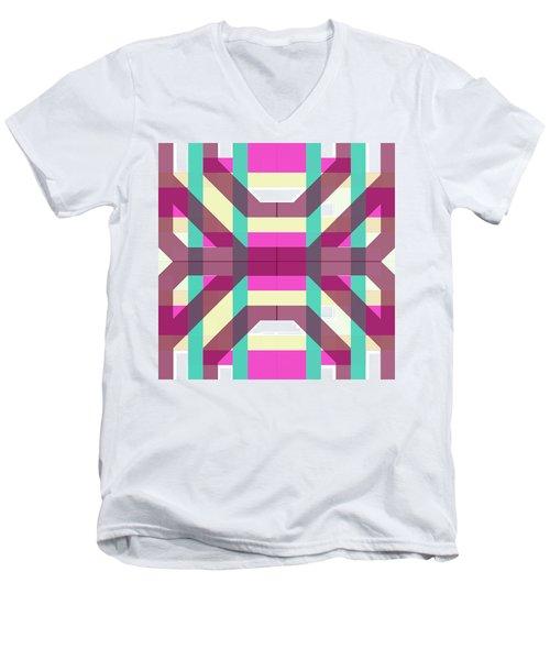 Pic12_coll1_14022018 Men's V-Neck T-Shirt