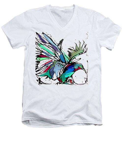 Pica Flor Men's V-Neck T-Shirt