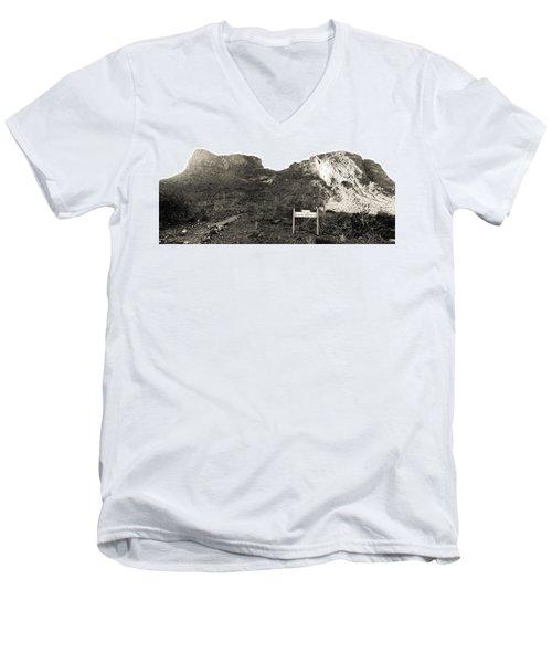 Picacho Peak Traihead Men's V-Neck T-Shirt