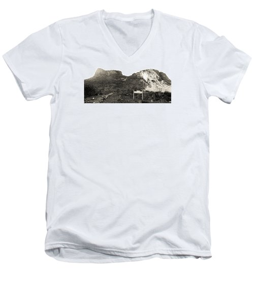 Picacho Peak Traihead Men's V-Neck T-Shirt