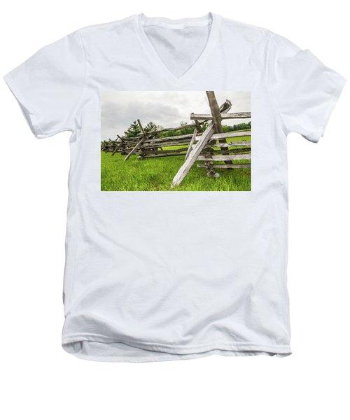 Picket Fence Men's V-Neck T-Shirt