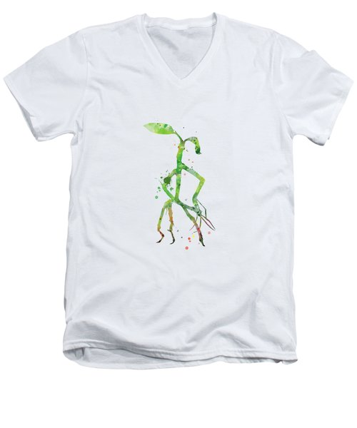 Pickett Bowtruckle Men's V-Neck T-Shirt