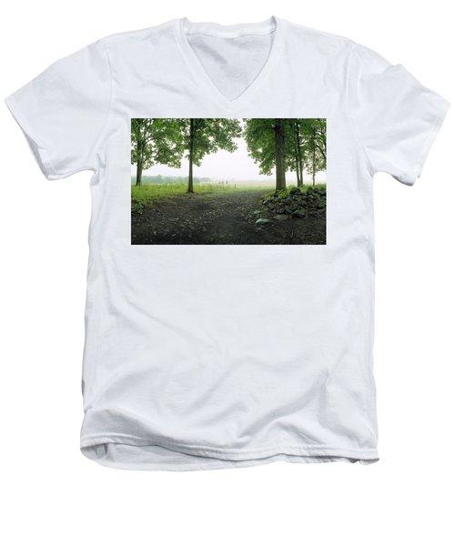 Pickett's Charge Men's V-Neck T-Shirt