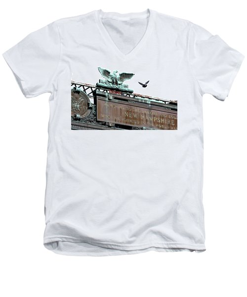 Pidgeon Intrusion Men's V-Neck T-Shirt
