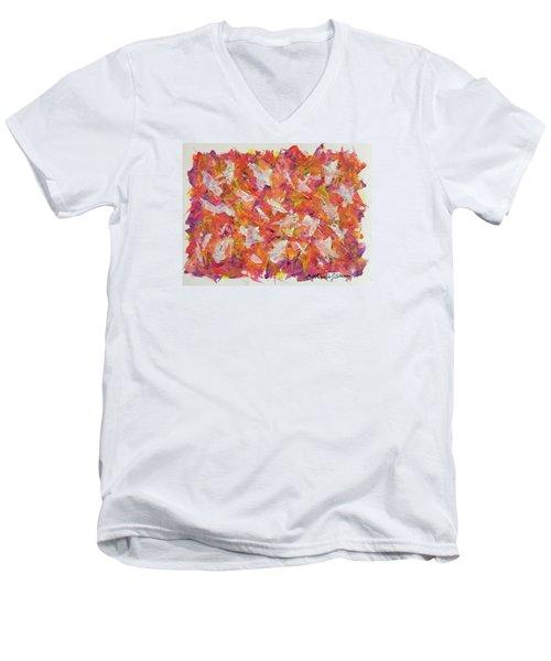 Piecefall  Men's V-Neck T-Shirt