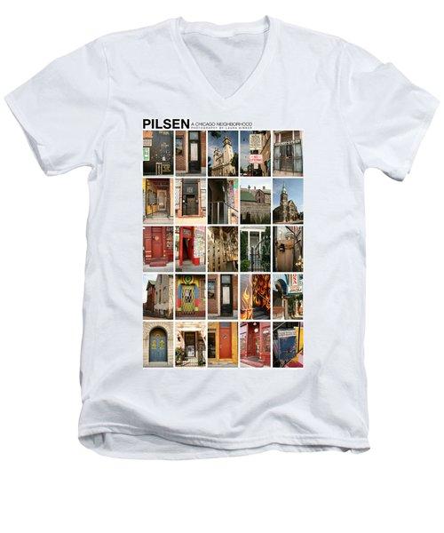 Pilsen Men's V-Neck T-Shirt
