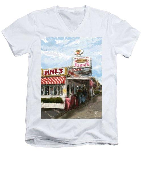 Pinks Men's V-Neck T-Shirt