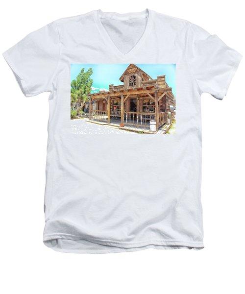 Pioneertown, Usa Men's V-Neck T-Shirt