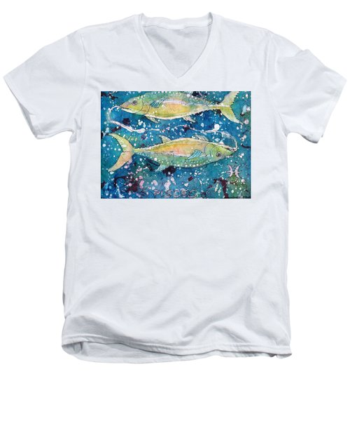 Pisces Men's V-Neck T-Shirt