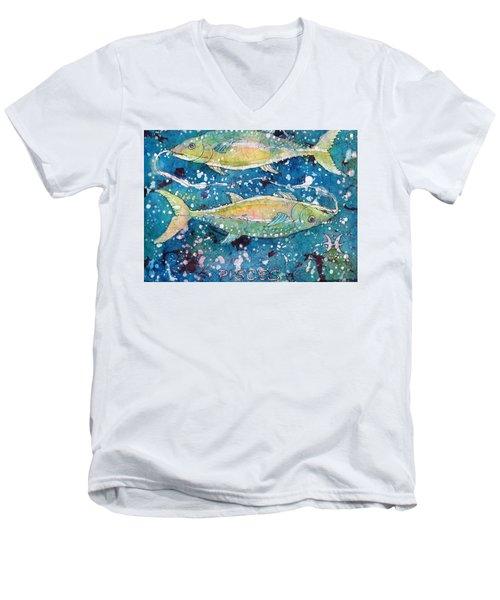 Pisces Men's V-Neck T-Shirt