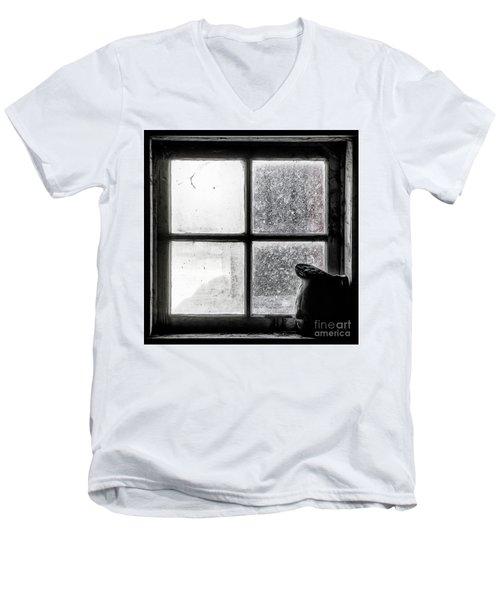 Pitcher In The Window Men's V-Neck T-Shirt