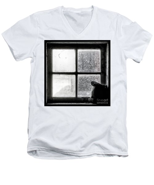 Pitcher In The Window Men's V-Neck T-Shirt