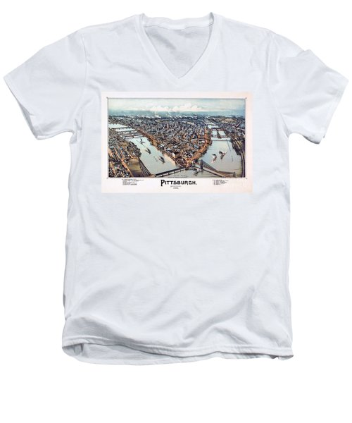 Pittsburgh Pennsylvania 1902 Men's V-Neck T-Shirt