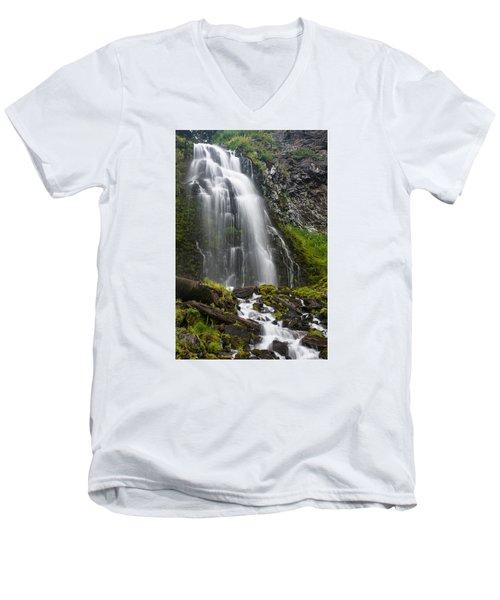 Plaikni Falls Men's V-Neck T-Shirt