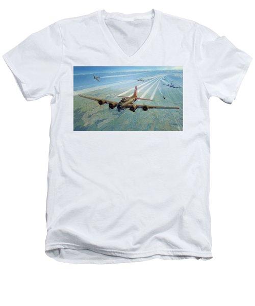 Plane Men's V-Neck T-Shirt