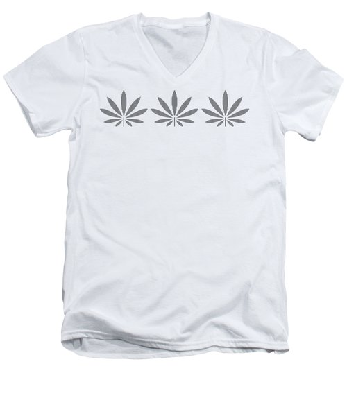 Plant Trio  Men's V-Neck T-Shirt