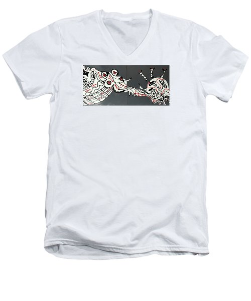 Platescape 2 Men's V-Neck T-Shirt