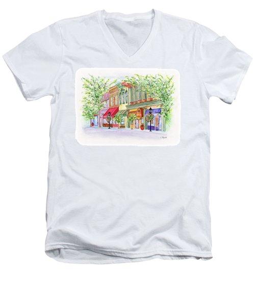 Plaza Shops Men's V-Neck T-Shirt