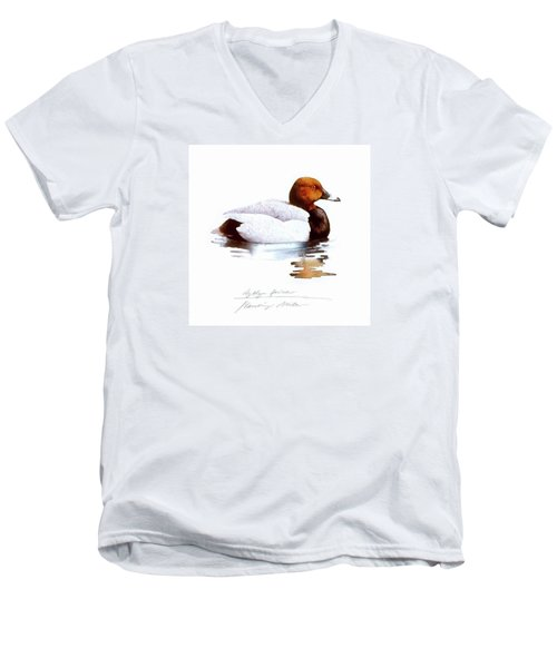 Pochard Men's V-Neck T-Shirt